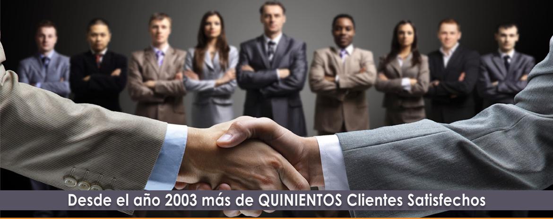 Grupo DFIM - Más de 500 clientes satisfechos